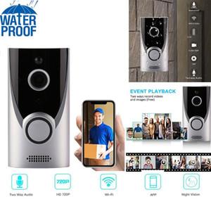 Videocamere Home WiFi Smart Security Sicurezza wireless Campanello visivo Interfono di registrazione Kit di registrazione monitor Night Vision Phone