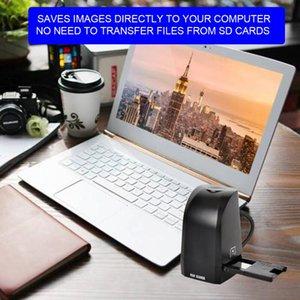 직접 컴퓨터에 35mm의 135mm 필름 스캐너 800 만 화소 디지털 컬러 포토 스캐너 변환 및 저장 필름 네거티브 슬라이드