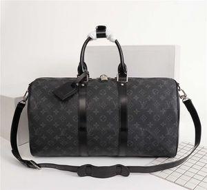 Neuer Ankunfts-Luxus-große Kapazitäts-Frauen Reise-Tasche Wasserdichte PU-Männer Reise-Taschen-Gepäck-Handtasche Multifunktions-Duffle Taschen Verpackung Würfel