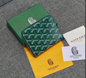 2020 Marca New Goyarrd Goyar GY designer de alta qualidade clássico bezerro bolsa de couro curto Zipper Bolsa