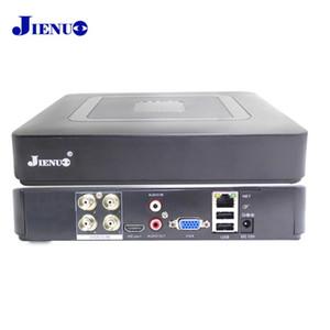 الهجين نظام الأمن JIENUO 4CH البسيطة DVR AHD 1080N CCTV HD مسجل فيديو مراقبة ONVIF لIP كاميرا النظير AHD السيدا TVI