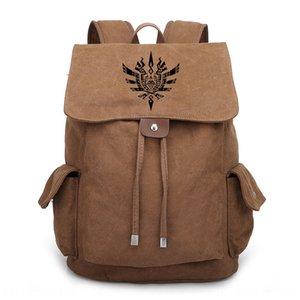 saco de anime jogo Hunter mochila Leilong para meninos e meninas estudantes do ensino médio júnior e sênior mochila