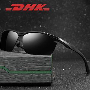 faqKu DHK neue Aluminium-Magnesium-Halbrahmen Männer polarisierten cycling Sonne Fahrrad Sonnenbrille Sonnenbrillen 8673