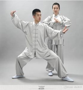 NEW Unisex ушу Одежда Единоборства Поддельный кунг-фу костюм Мужчины Tai Chi Uniform Тайцзицюань Костюм Крыло Chun ушу Performance Одежда