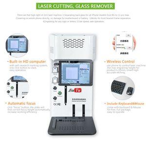 Vidro exterior da máquina de marcação do laser da fibra que separa para o iphone x xs xr x separação da tampa traseira máxima