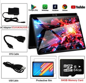 Super New Design Dual Glass 10 inch Tablet Android 9.0Tablette 2GB 32GB Wifi Bluetooth Android Tablets PC with GPS Phone Call