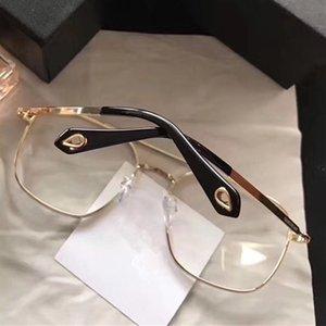 Yüksek Kalite Siyah Altın Gümüş Ücretsiz Kasa ile gel 2020 Popüler 7033 Gözlük Moda Erkekler Kadınlar Kare Retro Stil Full Frame