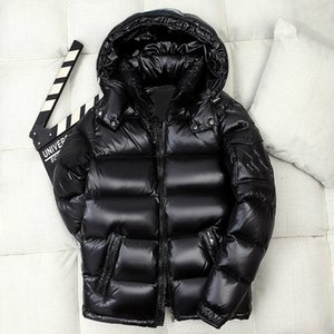 2020 Invierno Puffer chaqueta del diseñador abrigos de invierno de lujo para hombre de las mujeres Escudo chaquetas Parka foso del invierno Warm Doudoune Homme más el tamaño M-4XL