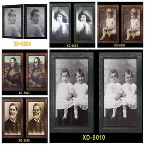 3D Призрак Photo Frame Horror Pictures Frames Изменение лица Призрак Halloween Party украшения Halloween Bar Домашнее украшение Prop VT0554