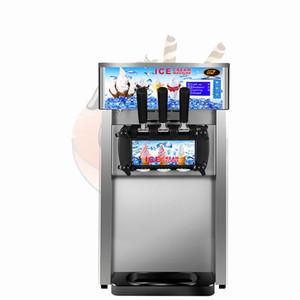 gelo comercial Creme Soft Machine Automatic Ice Cream Máquina inoxidável bancada de aço Ice Cream Máquina de 1200W