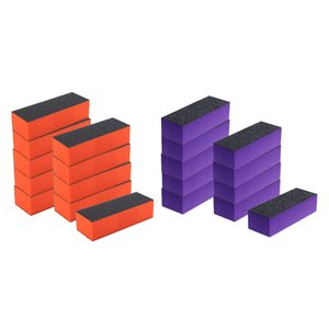20pcs Grinding Polishing Blocky Nail File For Model Polish Nail Art Tools