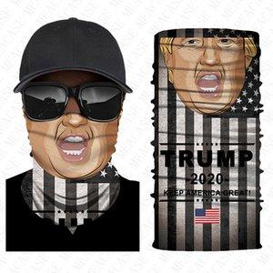 3D mode masque facial USA drapeau américain Trump imprimer respirant bouche moufles bandeau voile écharpe extérieure masque antipoussière D8501 Boutique