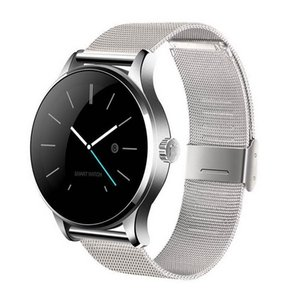 Newest K88h Smart Watch Bluetooth 4 .0 With Heart Rate Monitor For Ios Android Phone Wearable Wireless Smartwatch Steel Band Waterproof Ip54