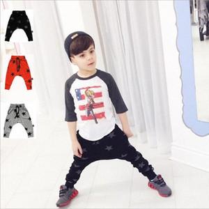 Bambino Harem ragazzi dei pantaloni pp del bambino fumetto potato dei pantaloni Bambini Animal Stripe stampa leggings ragazze dei pantaloni dei pp Stella Dot Tights Nuova B TBQW #