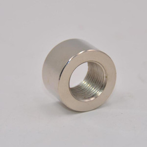 M18X1.5 Round Sensor Nut Thread Stainless Steel Exhaust Pipe Base Oxygen Sens Car Repair And Modification Accessories