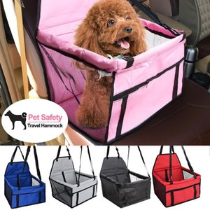 Breathable Dog Car Seat Bag Basket Soft Pet Dog Carrier Basket Waterproof Pad Safe Carry Folding Cat Puppy Bag Pet Products