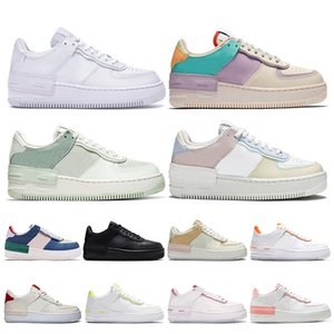 nike air force 1 af1uomo donna scarpe da corsa 1 tipo ombra Para-noise nero Summit White Mystic Navy Pale air Ivory uomo trainer sneaker sportive moda