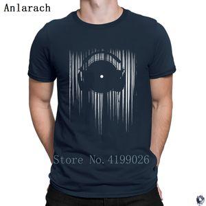 Vinyl T Shirtss Comfortable HipHop Top quirky Family men's tshirt Design Costume Anlarach 2018