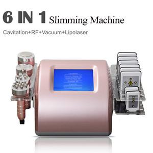 2020 초음파 Cavitation 바디 컨투어 머신 6 in 1 초음파 40K Cavitation Lipolaser Vaccum 체지방 손실 제거 슬리밍 장치