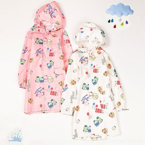 p3jEd New J9RS0 garçons raincoat enfants biologiques pluie Cartoon corps Body Bag babieskindergarten Cape vêtements clothesand studentsjumpsuit C
