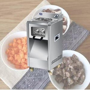 Chicken Stripsslicer Wire cutter Fully automatic Meat grinder Sliced meatShiitake dicing machine