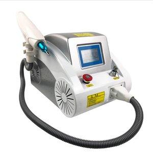 Equipement de beauté Q-switch Nd YAG Machine laser de déplacement de tatouage Système 1064 / 532nm face noire poupée Removal