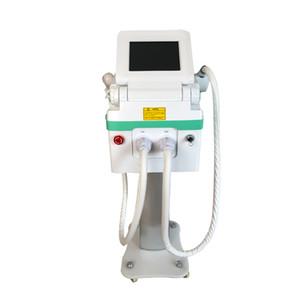 Portable laser Nd Yag + IPL / opt / SHR 2 in 1 macchina per il tatuaggio / pigmentazione rimozione / capelli e ringiovanimento della pelle