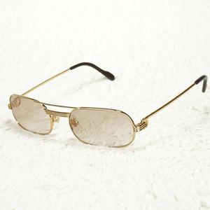 Di piccola dimensione della pagina del metallo degli uomini degli occhiali da sole occhiali da lettura per gli uomini occhiali Donne Vintage Fill prescrizione Shades Computer Glasses