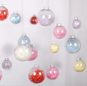 Detalhes no Lâmpadas transparente do Natal Georama Bola Lamp com chapéu da bolha bola pendurada lâmpada quarto Presentes Decoração de Natal LSK1432