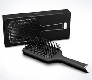 Hot 9HD Escova Profissional Paddle Comb Escova quente para o cabelo cerâmica escova de massagem do cabelo Straightener cabeça