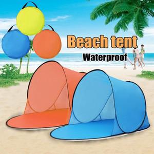 Kamp Çadır Yukarı Çadır Polyester UV Koruma Rahat Sea Garden Water Beach Taşınabilir Yaz Yürüyüş Travel Soğutma