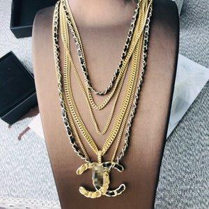 collar de gama alta damas nueva carta collares accesorios al por mayor de envío libre 0801-23