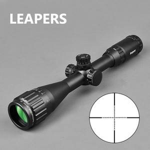 LEAPERS 3-9X40 Rifle Tactical Optical-Gewehr-Bereich Rot, Grün und Blau-Punkt-Anblick Beleuchtet tischen Anblick für Jagd-Bereich