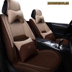 ZHOUSHENGLEE flax car seat covers for infiniti fx fx35 fx37 g25 g35 q50 q60 qx50 q70L qx56 qx60 qx70 qx80 jx35 ESQ seat cover