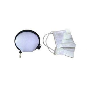 Maschera Igiene bagagli Pouch auricolare bagagli sacchetto di trasporto Rettangolo Zipper Earpphone neoprene Auricolare caso della copertura FWB1178