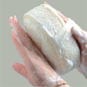 Luffa naturel éponge Bath Ball Douche Rub Bain Douche Gel douche Pot éponge Scrubber durable en santé Massage Brosse 10pcs