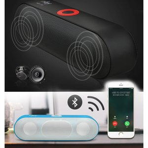 KYYSLB 10W Wireless Bluetooth 4.2 Active Speaker Mini Stereo Dual Speaker High Power Subwoofer Portable Card USB FM TF Nby-18