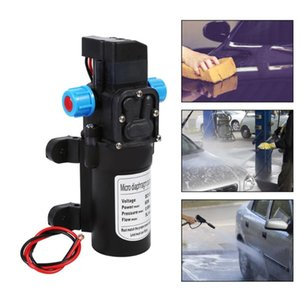 Oversea Water Pump High Pressure 5L min Auto Diaphragm 115PSI Self-Priming For Wash Water Purifier Pressurizer Caravan Boat