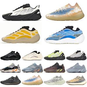 Adidas Boost yeezy 700 v2 yeezys Azareth 700 v3 kanye west Zapatillas de running para hombre Srphym Blue Oat Reflective Bone 380 Mist hombre mujer zapatillas deportivas de diseño