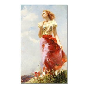 "Pino ""Wind Swept AP"" Home Decor Handpainted &HD Print Oil Painting On Canvas Wall Art Canvas Pictures 200923"