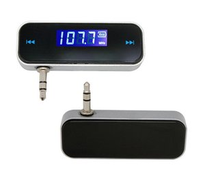 Car FM transmitter Apple Android phone 3.5mm universal AUX audio FM player MP3