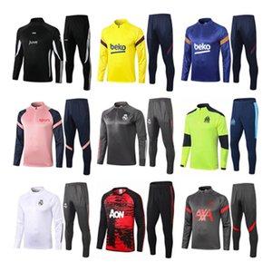 2020 2021 футбольный костюм 20 21 спортивный костюм Messi футбол комплект мужчин куртки футбол костюм