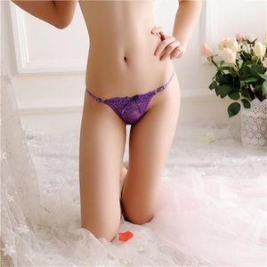 Strings Panties Luxury Bow Lace Sexy Lingerie Colorful Girls Adjustable Strip Intimo Donna Womens Designer G