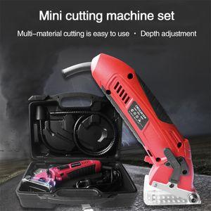 Metal Chainsaw Circular Tool Practical Saw DIY 3400RPM Power Tools Portable Cutting Machine With Plastic Box