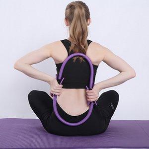 Professional círculo yoga esportes Pilates mágicas esportes senhoras anel de fitness anel resistência ginásio exercício de Pilates acessórios