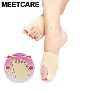 Toes Separating Orthosis Sleeve Stretch Hallux Valgus Correction Socks Bunion Eversion Thumb Little Toe Separator Foot Protector