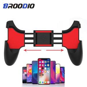 PUBG Mobile Controller Game Controller Gamepad tiro Botão livre da prega alça Gamepad Joystick Para Celular Android Phone Gaming