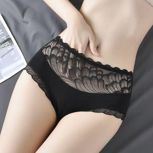 4pcs lot Sexy Lace Panties Women Fashion Cozy Lingerie Tempting Briefs High Quality Women's Underpant Mid waist Intimates Under