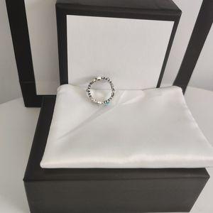 MEJOR venta S925 Sterling Silver Ring Top Mujer o anillo de hombre Anillo de alta calidad Pareja de joyería