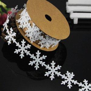 Kar tanesi Dantel Şerit Yüksek Kalite kar tanesi Şerit Kabartmalı Noel Diy Malzemeleri Düğün Hediye XHA1 # Malzemeleri